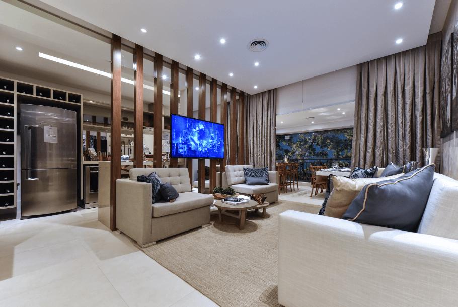 2 - Estilo de vida deve pautar a decoração da sala de estar